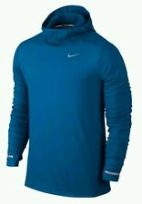 ⭐NEW⭐ NIKE MEN'S DRI-FIT ELEMENT HOODIE PULLOVER IMPERIAL BLUE683638-465NWT