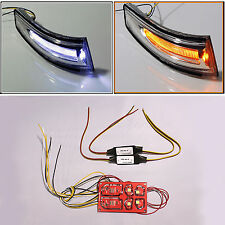 2way LED Side Rear View Mirror Light Lamp Turn Signal Module for 11+ Veloster