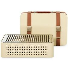 $375 New Mon Oncle Barbecue BBQ Barbeque beige from RS Spain Portable European