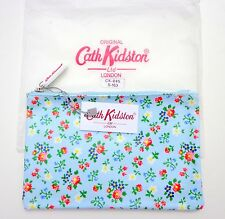 NWT CATH KIDSTON SHABBY CHIC FLORAL ROSE POUCH BAG CASE