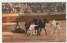 Spain, Corrida De Toros, L'Arrastre Postcard, B333