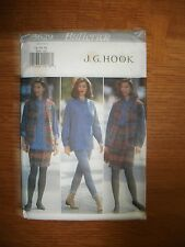 Butterick JG Hook Womens 12-16 Vest Shirt Skirt Leggings Sewing Pattern UNCUT