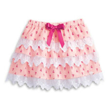 American Girl CL SAMANTHA LACY TIERED SKIRT SIZE 16 Large for Girl Pink NEW