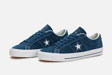 Converse Unisex One Star Skate Ox Navy Shoes (8 Men US / 10 Women US)