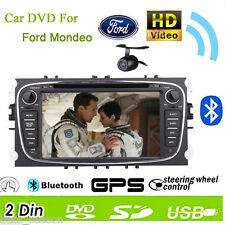 Win8 2 Din In Dash GPS 7'' Car Stereo Radio DVD Player For Ford Focus Mondeo+Cam