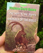 Animals of the Bible Playing Cards, Kids Family Game, Israel Holy Land Biblical