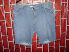 Ann Taylor Loft Womens Plus Size 16 Curvy Blue Denim Shorts