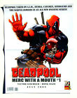 Deadpool Merc with a Mouth Mini Poster 2009 Folded 10 x 13 Inches Marvel Comics