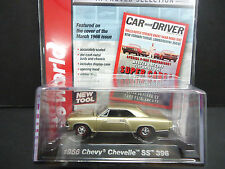 Auto World Chevrolet Chevelle SS 396 1966 Champagn 1/64 Detail Car