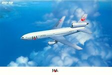 JAPAN AIR LINES DC 10 JA8530 AIRLINE ISSUED? POSTCARD