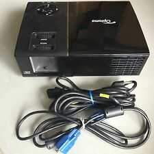 OPTOMA TX761 DLP PORTABLE HD PROJECTOR 3200 LUMENS, 1455 HRS ON FACTORY LAMP!!!