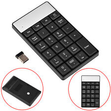 Wireless Number Pad Numeric Keypad 23Keys Keyboard for Laptop Desktop 2.4GHz