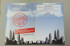 Malaysia 2013 Stamp Week Passport Unused
