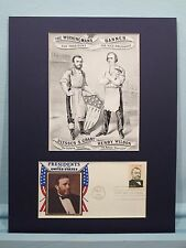 Ulysses S. Grant runs for President in 1868 & First Day Cover of his own stamp
