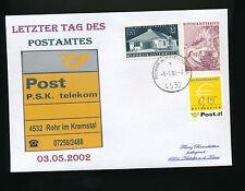 Brief aus 4532 Rohr im Kremstal mit 0,15 Ergänzungsmarke    (B5)