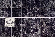 Floor Tile Sheet - Black Marble MH5956 dollhouse 8.5x11 card stock 1/12 scale
