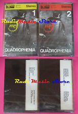 2 MC THE WHO Quadrophenia SIGILLATO italy TRACK RECORD no cd lp vhs dvd