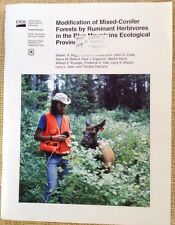 Modification Of Mixed Conifer Forests by Ruminant Herbivores USDA Paper 2000 PB