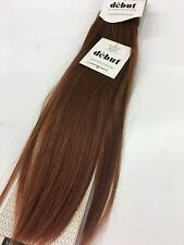 "Indian REMI 100% VIRGIN REMY Human Weave Hair SILKY Extensions SINA 18"" - #33"
