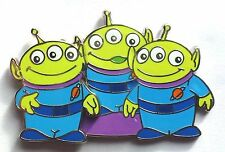 Disney Pin Badge Pixar's Toy Story 3 Little Green Men reveal conceal