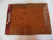 72 Inch Fall Gold & Rust Colored Paisley Autumn Table Runner Decoration