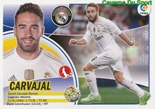 03A CARVAJAL ESPANA REAL MADRID STICKER LIGA 2017 PANINI