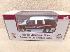 New 1995 Brookfield 1:25 Diecast NASCAR 79th Indy 500 Chevrolet Suburban Truck