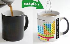 PERIODIC TABLE Color Changing Magic Heat sensitive morphing Coffee Mug gift
