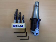 50mm Boring Head with ISO40 M16 shank & 9pc 12mm Brazed Carbide Boring Tool Set