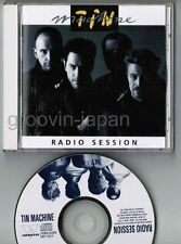 DAVID BOWIE-TIN MACHINE Radio Session JAPAN CD VICP-15014 w/PICTURE SLEEVE FreeS