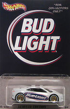"Hot Wheels CUSTOM '17 ACURA NSX ""Bud Light"" Real Riders LTD 1/10 Made!"