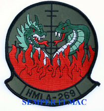 HMLA-269 GUNRUNNERS PATCH HELICOPTER PIN UP US MARINES PILOT CREW MAW WING WOW