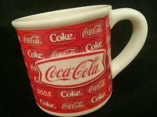 Coke Coca Cola Mug Large Mug Cup Pop Art Red Houston Harvest 3-D