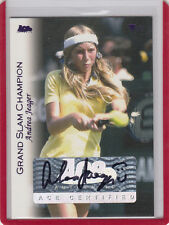 "2012 ACE AUTHENTIC ANDREA JAEGER ""JEAGER"" GRAND SLAM CHAMPION AUTO/AUTOGRAPH*"