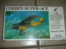 William Bros. Corben Super-Ace Model Airplane Kit - 1/48 - New in Box (CA 13)