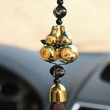 Lucky Car Pendant Double Gourd Beads Amulet For Safety Car Decoration Ornaments