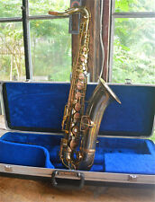 1920'S CONN TENOR SAXOPHONE! PLAYS GREAT! $1300