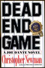 Dead End Game by Christopher Newman-First Edition/DJ-1994-A Joe Dante Novel