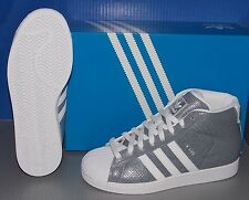 MENS ADIDAS PRO MODEL in colors FTW WHITE / FTW WHITE / FTW WHITE SIZE 10