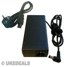 F PANASONIC TOUGHBOOK CF-48 CF-71 CF-V45 AC ADAPTER PSU + EU POWER CORD UKED