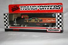 Matchbox Super Star Transporters 1990 CY104 #28 Dewey Allison Texaco Havoline