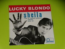 CD  SINGLE - LUCKY BLONDO - SHEILA  - 1962