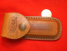 CASE XX  BROWN leather sheath TRAPPER TESTED         1.6980CA