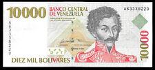 World Paper Money - Venezuela 10000 Bolivares 1998 P81 @ Crisp AU-UNC ; Ref.#220