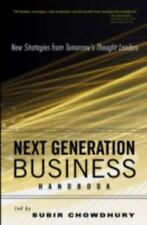 Next Generation Business Handbook: New Strategies from Tomorrow's Thought Leader