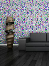 Wall Geometric Stencil Monica, Reusable Template for accent wall DIY decor