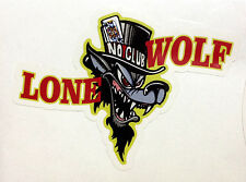 RAT ROD HOT ROD STREET ROD  DECAL STICKER      CHOPPER  BOBBER  LONE WOLF