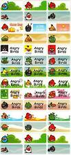 Personalized Waterproof Name labels stickers, 36 Birds, day care, school,