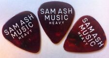 Vintage Sam Ash Guitar Picks Heavy Gauge Tortoise Celluloid NOS You Get 3!!!