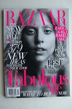 Harper's Bazaar Magazine October 2011 Lady Gaga Cover - Bares All